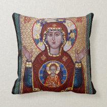 Oranta icon pillow - Orthodox Christian gift