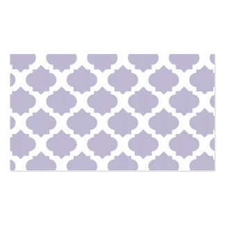 Orante Pattern1 Lavender Double-Sided Standard Business Cards (Pack Of 100)