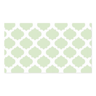 Orante Pattern1 Mint Double-Sided Standard Business Cards (Pack Of 100)