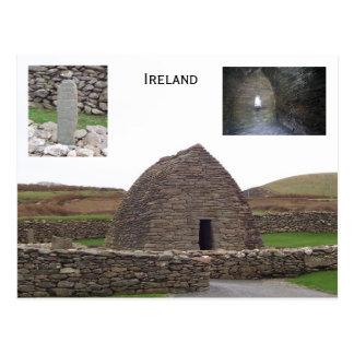 Oratorio de Gallarus, Kerry, Irlanda Tarjeta Postal