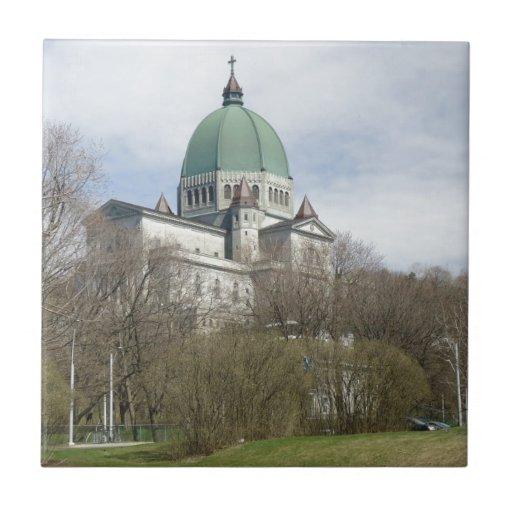 Oratorio de San José, Montreal Azulejo Cuadrado Pequeño
