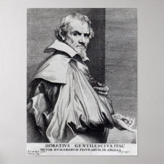 Orazio Gentileschi, de van Dyck Póster