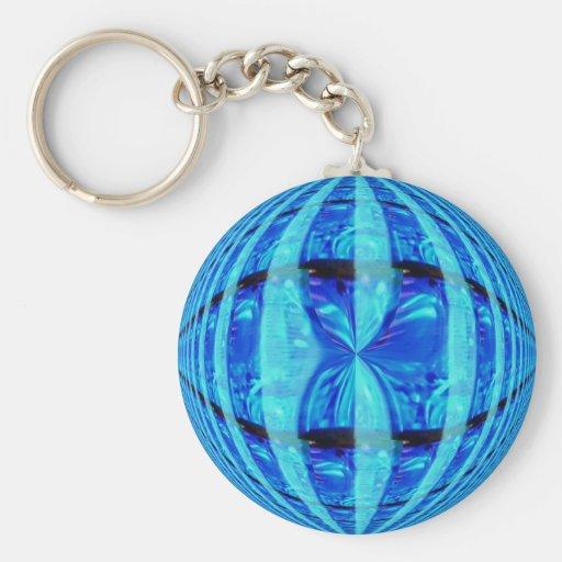 Orb Blue keychain