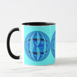 Orb Blue Round mug blue