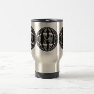 Orb Chrome Black travel mug