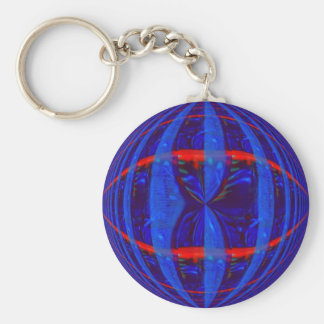 Orb Dark Blue keychain
