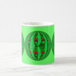 Orb Green Round mug green