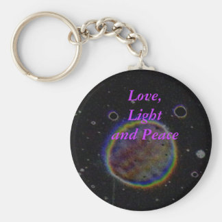 Orb - Love, Light and Peace Keychain