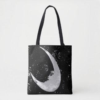 Orb of Night Moon Tote Bag