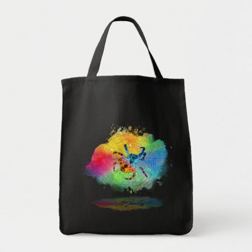 Orb Spider Tote
