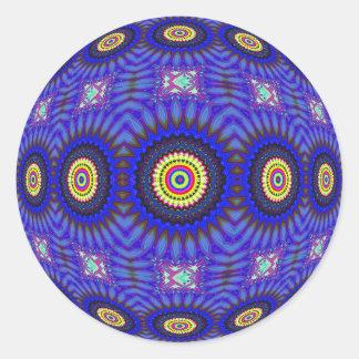 Orbe caleidoscópico 4 - pegatina