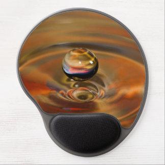 Orbe líquido alfombrilla de raton con gel