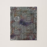 Orbe óptico - blanco y negro puzzle