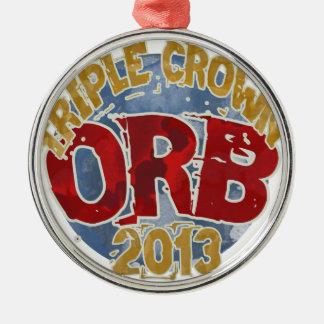 Orbe - Triple Crown 2013 Ornamento De Navidad