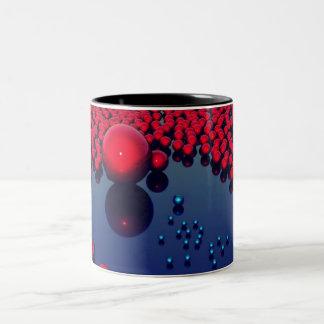 Orbes rojos tazas