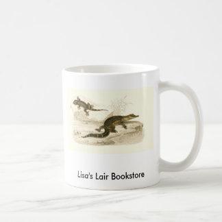 Orbigny - Alligator and Gecko Bookstore Promo Coffee Mug