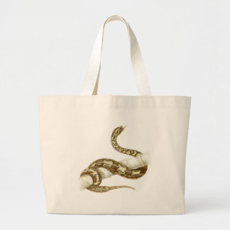 Orbigny - Boa Constrictor - Boa devin Large Tote Bag