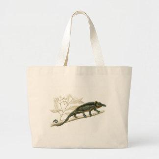 Orbigny - Chameleon - Chamaelo sp Large Tote Bag