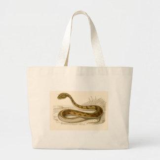 Orbigny - Horned Viper - Cerastes cornutus Large Tote Bag