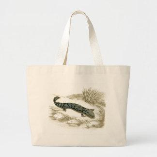 Orbigny - Salamander - Menopoma alleghnensis Large Tote Bag