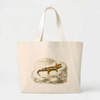 Orbigny - Spotted Salamander - Salamandra maculosa Jumbo Tote Bag