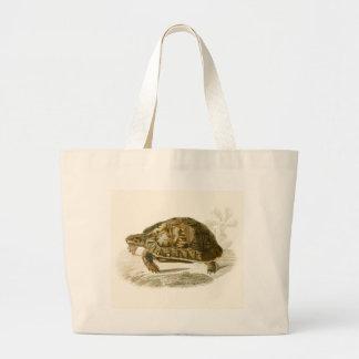 Orbigny - Tortoise - Testudo mauritanica Large Tote Bag