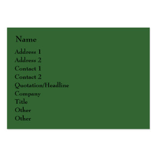Orbigree Big & Small Large Business Cards (Pack Of 100)