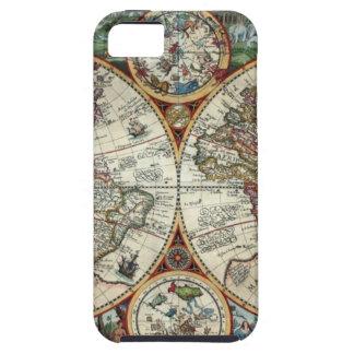 Orbis Terrarum 1594 - Famous World Map iPhone SE/5/5s Case