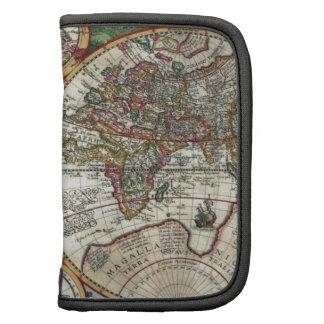 Orbis Terrarum 1594 - Famous World Map Organizers