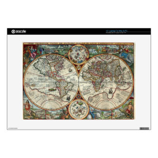 Orbis Terrarum 1594 - Famous World Map Skin For Laptop