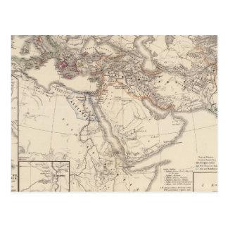Orbis terrarum regni Assyrii tempore Postcard