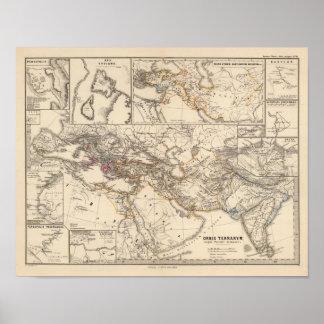 Orbis terrarum regni Persici tempore Poster