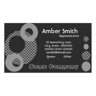 Orbit Collection Business Card
