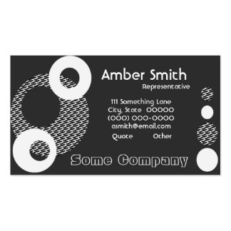 Orbit Collection Double-Sided Standard Business Cards (Pack Of 100)