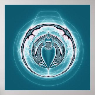 orbit fractal  poster