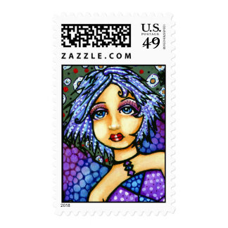 Orbit Pretty Fairy Postage Stamps
