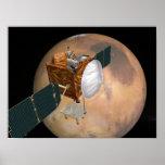 Órbita de las telecomunicaciones de Marte Póster