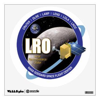 Órbita lunar del reconocimiento vinilo