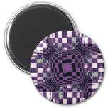 Orbital Fridge Magnet