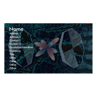 Orbital interactions in uranocene molecule dimensi Double-Sided standard business cards (Pack of 100)