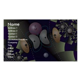 Orbital overlap in H atom Orbit Business Card
