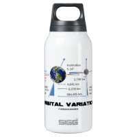 Orbital Variation (Astronomy) 10 Oz Insulated SIGG Thermos Water Bottle