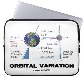Orbital Variation (Astronomy) Computer Sleeves