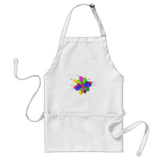 Orbitals Adult Apron