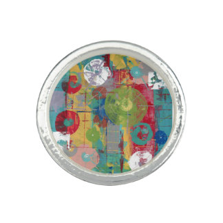 Orbitario atómico anillo