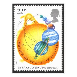 Órbitas de Newton Tarjetas Postales
