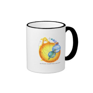 Órbitas elípticas de Newton Tazas De Café