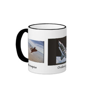 Orbiter Trio / Enterprise Challenger Columbia Coffee Mug