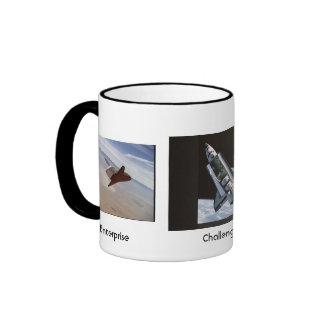 Orbiter Trio / Enterprise Challenger Columbia Ringer Mug