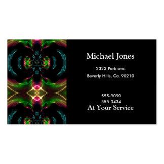 Orbiting Fractals Business Card